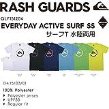 QUIKSILVER(クイックシルバー) 水陸両用 半袖 Tシャツ EVERYDAY ACTIVE SURF SS メンズ Mサイズ イエロー qly151204-M-YEL