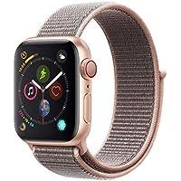 AppleWatch Series4(GPS+Cellularモデル)- 40mmゴールドアルミニウムケースとピンクサンドスポーツループ