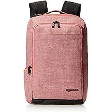 AmazonBasics Slim Carry On Backpack, Salmon