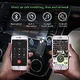 UGREEN Bluetooth レシーバー 3.5mm オーディオ ブルートゥース 受信機 ワイヤレス 車載 AUX カーオーディオ コンポ iPhone Android スマートフォン タブレット対応 Mirco USB充電ケーブル付属