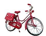【BAIKODO】 レトロ アンティーク 自転車 1/6 ドール レッド/ブラック (赤)