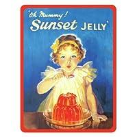 Sunset Jelly Fridge Magnet