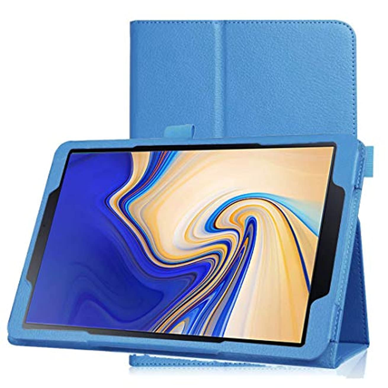 目覚める最後に治安判事Galaxy tab a 10.5 全面保護ケース INorton 本革ケース スタンド機能 衝撃吸収 PUレザー 軽量薄型 排熱性アップ ソフトケース T830 T835対応