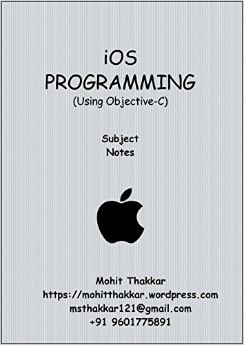 iOS Programming: Subject Notes (English Edition)