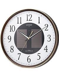 CITIZEN ( シチズン ) 掛け時計 エコライフ M807 電波 時計 ソーラー電源 エコマーク商品 4MY807-023