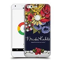 Official Frida Kahlo ブルーム レッド・フローラル ハードバックケース Google Pixel