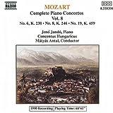 Piano Concerti 6, 8 & 19 by W.A. Mozart (2013-05-03)