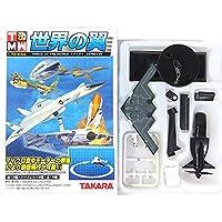 【12】 タカラ TMW 1/700 世界の翼 series01 B-2 (ライン有り)+空中モーター 単品