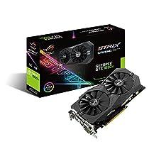 ASUS R.O.G. STRIXシリーズ NVIDIA GeForce GTX1050Ti搭載ビデオカード オーバークロック メモリ4GB STRIX-GTX1050TI-O4G-GAMING
