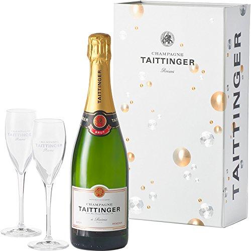 【お祝いやパーティにおすすめペアグラス・選べるギフトボックス付き】<ノーベル賞晩餐会提供シャンパン>テタンジェ ブリュット レゼルヴ シャンパーニュ [ スパークリング 辛口 フランス 750ml ] [ギフトBox入り]