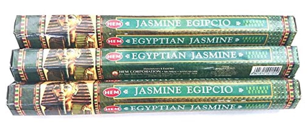 掃く肌寒い効率HEM エジプシャンジャスミン 3個セット