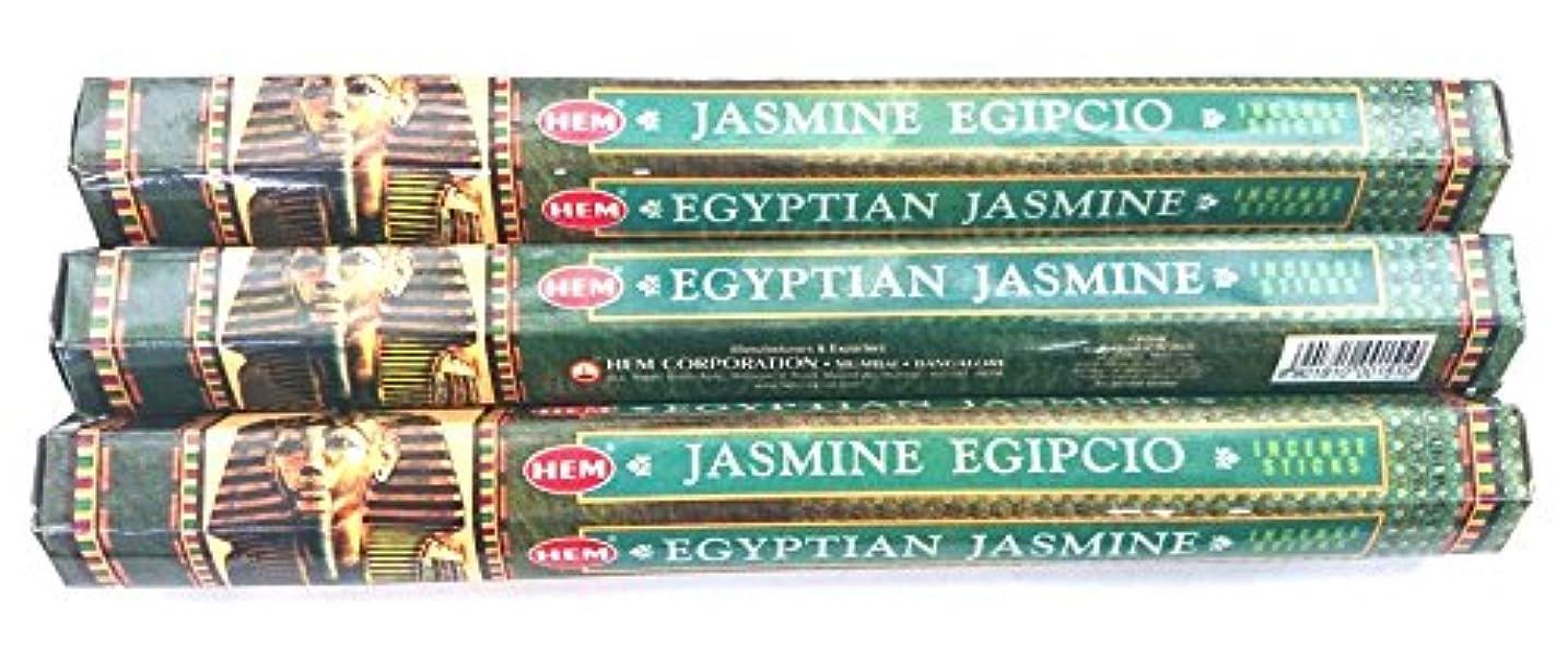 蛾テザー例外HEM エジプシャンジャスミン 3個セット