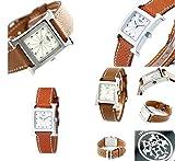 エルメス ≪HERMES≫エルメス H-watch レザーベルトウォッチ レディース向(HH1210.260.UGO HH1210.260.WRP) (HH1210.260.UGO(ブラウン))