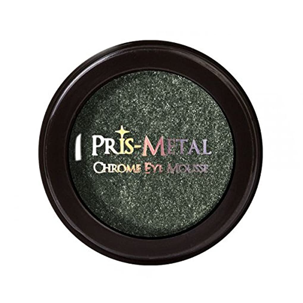 棚探検コミュニティJ. CAT BEAUTY Pris-Metal Chrome Eye Mousse - Forest Night (並行輸入品)