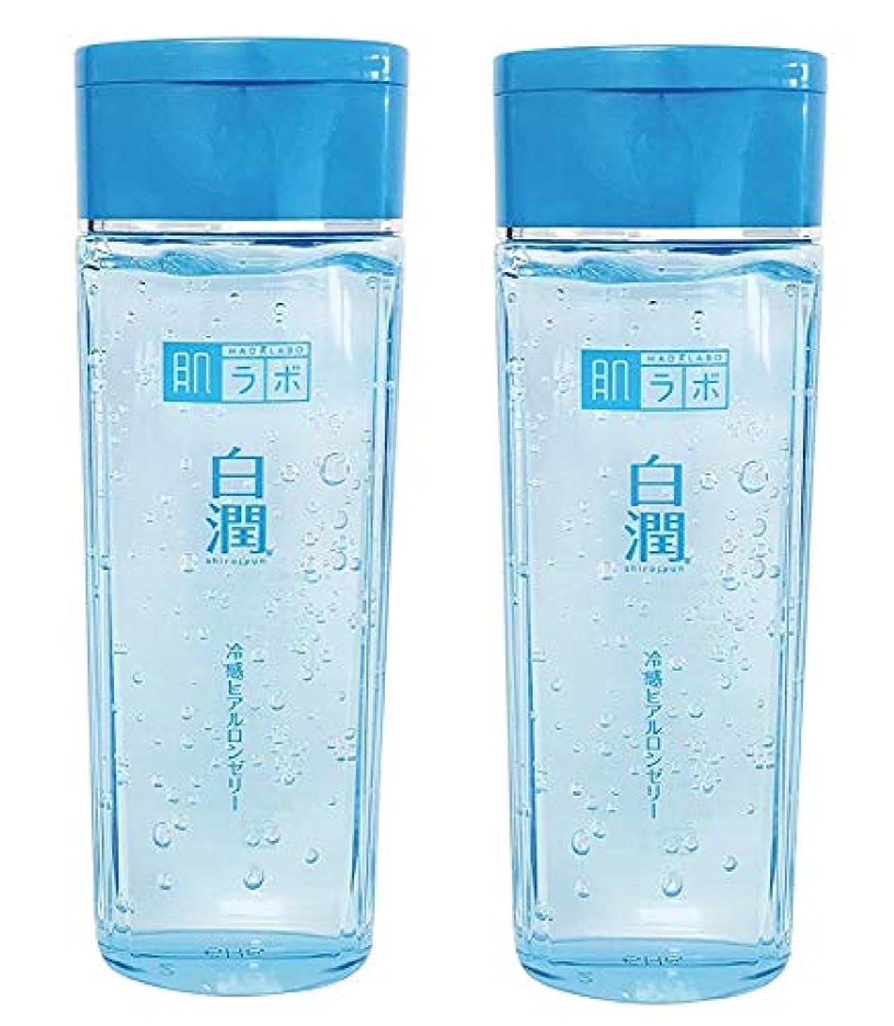もつれ在庫理由【まとめ買い】肌ラボ 白潤 冷感ヒアルロンゼリー 化粧水?乳液?美容液?収れん?パックの5役 4つの潤い成分配合 200mL×2個