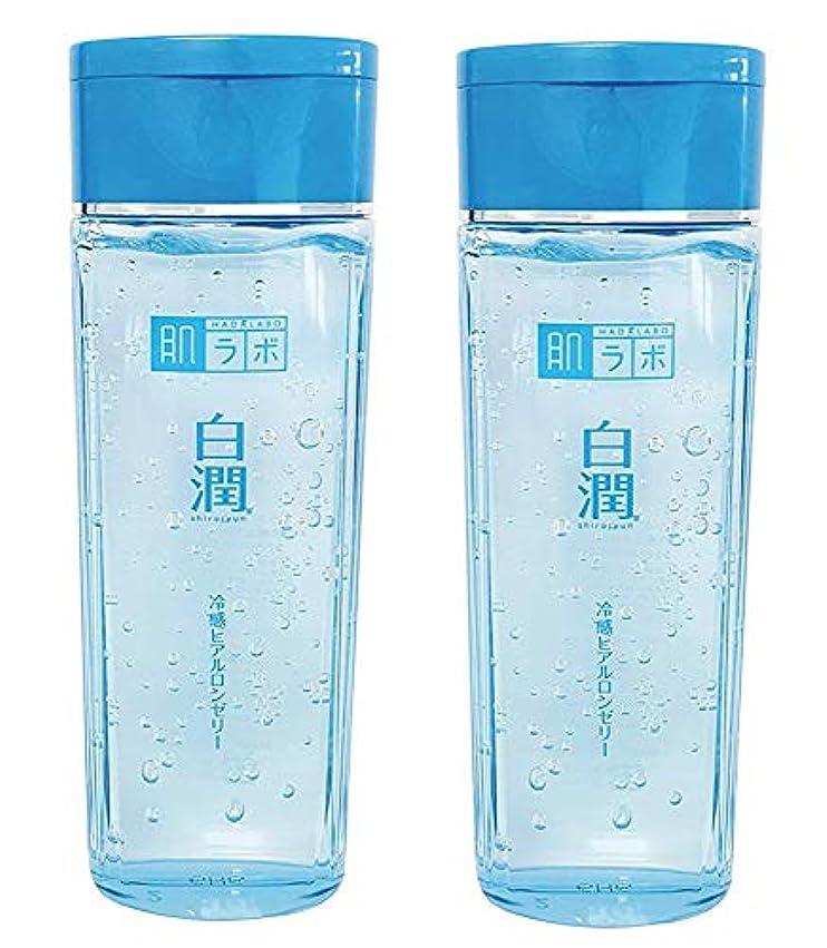 倒産かわすそばに【まとめ買い】肌ラボ 白潤 冷感ヒアルロンゼリー 化粧水?乳液?美容液?収れん?パックの5役 4つの潤い成分配合 200mL×2個