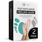 Foot Peel Mask 2 Pack, Peeling Away Calluses and Dead Skin cells, Make Your Feet Baby Soft, Exfoliating Foot Mask, Repair Rou