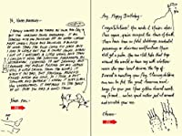 Quiplip Handwritten Yours Truly Birthday Cards 6-Pack (YT04086PCK) [並行輸入品]