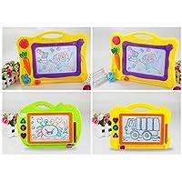 HuaQingPiJu-JP スケッチングパッドを書く子供のためのおしゃれなカラフルなマグナ落書きの絵のボードのおもちゃ - 小さな男の子のためのギフト女の子の子供たち