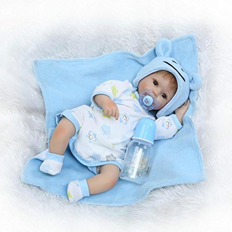 16インチRebornベビー人形ソフトビニール新生児シリコンBoys人形おもちゃwithマグネット口