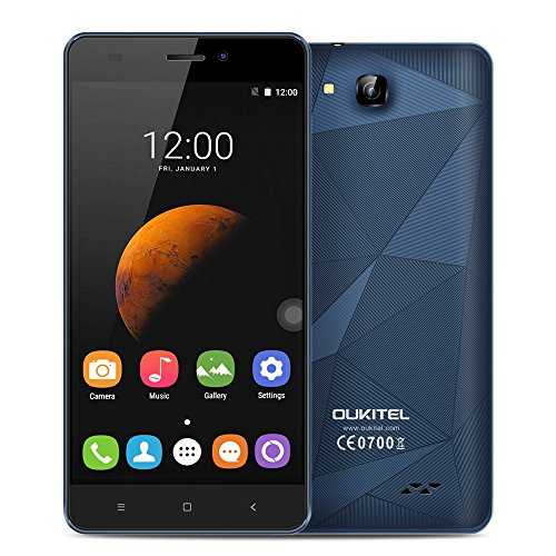 OUKITEL C3 スマートフォン 3G WCDMA 5.0