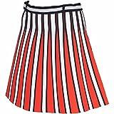 アルチビオ ARCHIVIO スカート スカート レディス ネイビー/ホワイト/グリーン 260 38