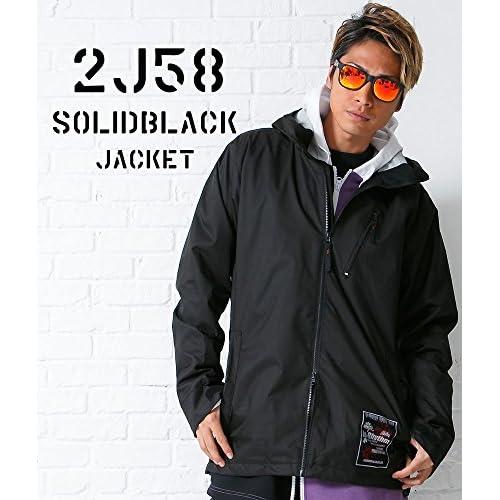 スノーボードウェア ジャケット(XXL)le-Rhythm(リアリズム) 15-16ユニセックス メンズ レディース ブラック 2J58