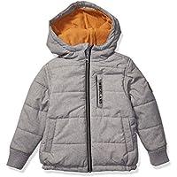 Timberland Boys Full Zip Heavyweight Puffer Jacket Down Alternative Coat