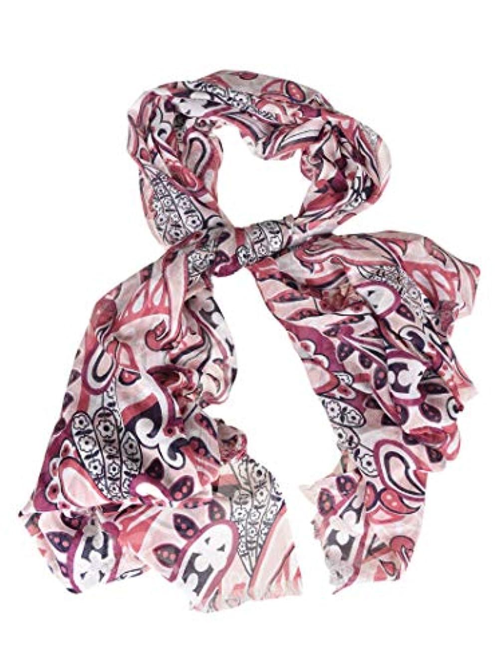 コーンウォール先生許されるCamerucci レディース ROSA8472 ピンク モーダル スカーフ