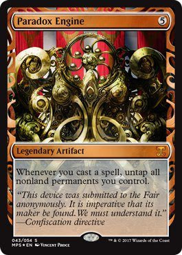 Magic The Gathering Paradoxエンジン – Foil – 傑作シリーズ