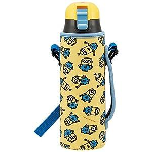 スケーター 直飲み ステンレス 水筒 カバー付 ミニオンズ3 KSDC6