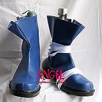 【サイズ選択可】女性22CM B1B00093 コスプレ靴 ブーツ テガミバチ ゴーシュ・スエード