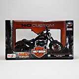 2014 Harley Davidson Sportster Iron 883 Motorcycle Model 1/12 by Maisto 32326 by Maisto