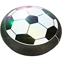 aperfectlife Kids Toys Air電源サッカーボールwith音楽とLEDライトトレーニングアウトドアインドアサッカースポーツトイ