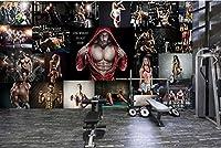 Mingld ファッションジムボクシングホール男性と女性のポスターツーリング背景の壁-280X200Cm