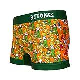 BETONES(ビトーンズ)「BETONES×STREET FIGHTER2」コラボ アンダーウェア ボクサーパンツ ショート ユニセックス プレゼント STREET FIGHTER2-STF003 (3 GREEN)