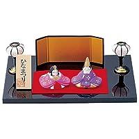 平安雛 ひなまつり雛 [板21x15cm] 雛祭り 桃の節句 かわいい プレゼント