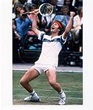 ジョン・マッケンローUSAテニス8x 10スポーツアクション写真J