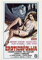 カレンダー 2020 [12 pages 20x30cm] Anthony Steffen 映画 Vintage レトロポスターs