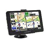 ポータブルナビ 7インチ ワンセグテレビ テレビ録画機能 3年間地図更新無料 DC12V DC24V バックカメラ入力 Bluetooth搭載 ハンズフリー オービス警告 GPS