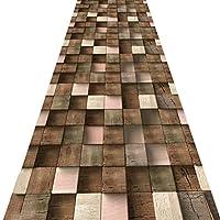 KKCF 廊下のカーペット滑り止め3Dパターン切れる耐汚染性カスタマイズ可能 、複数のサイズ (Color : A, Size : 0.9x3m)