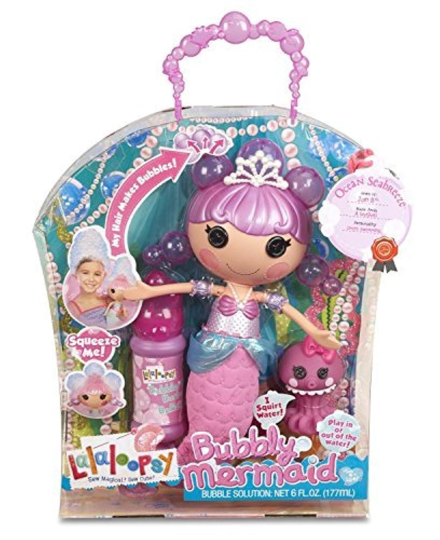 輸入ララループシー人形ドール Lalaloopsy Bubbly Ocean Seabreeze Mermaid Doll [並行輸入品]
