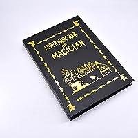 Metamopho Magic Book / マジックブック 本からハトを現れる 本からフラワーボールを出現 ハトマジック 花マジック アピアリング ディスアピアリングマジック ステージマジック道具 (L (30x22x2.3cm))