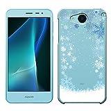「Breeze-正規品」iPhone ・ スマホケース ポリカーボネイト [透明] アクオスカバー AQUOS U [SHV35]