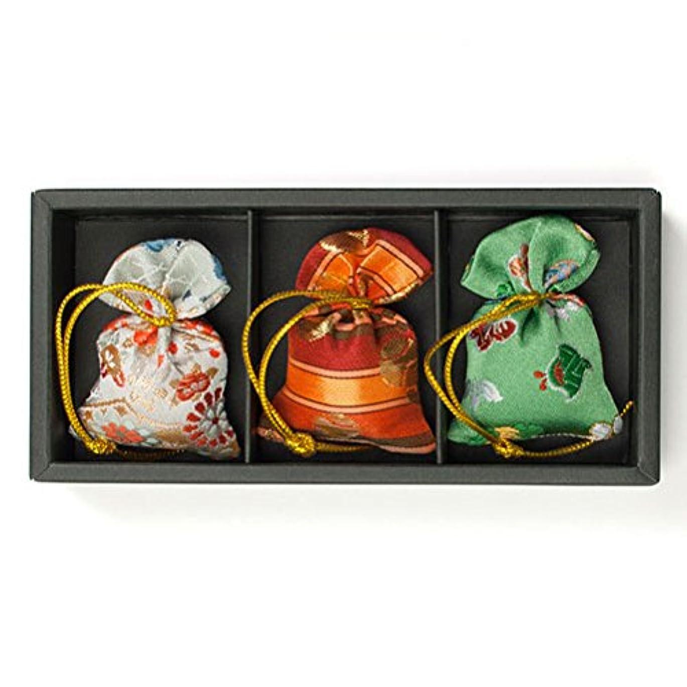 成長する折るプレゼント匂い袋 誰が袖 みやこ(大) 3個入 松栄堂 Shoyeido