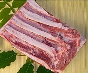 おのみちサンポーク 国産 瀬戸内六穀豚 バラ ブロック 500g