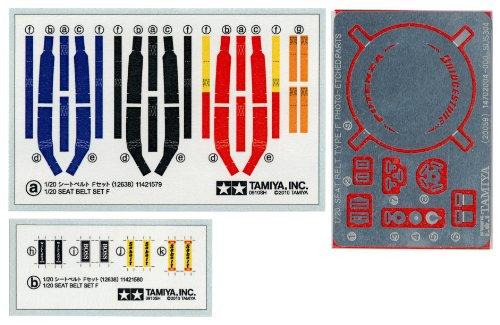 ディティールアップパーツシリーズ No.38 1/20 シートベルトFセット