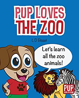 amazon pup loves the zoo educational picture book learning zoo
