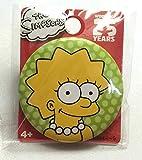 ザシンプソンズ リサ Lisa 缶バッジ