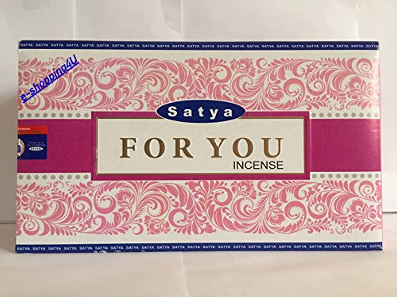 Satya for You Agarbatti 15 g ( 12ボックス)